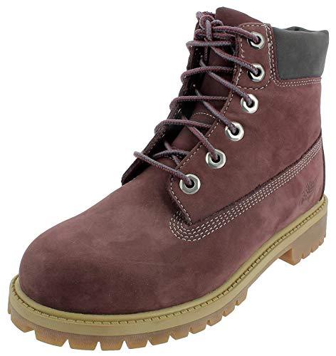 TIMBERLAND Damen 6 Inch Junior Boots rot 39 (Damen Timberland Boot-rot)