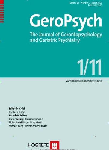 Zeitschrift für Gerontopsychologie & -psychiatrie