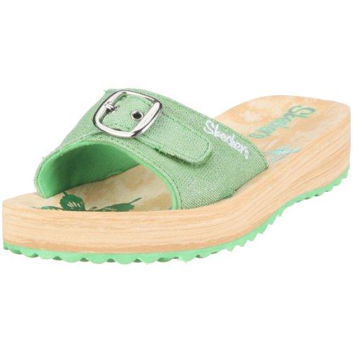 Skechers Sparks 999997L GRN, Chaussures fille Vert - Grün/GRN