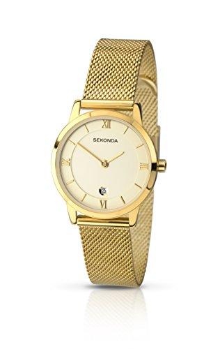 sekonda-210327-reloj-de-cuarzo-para-mujeres-correa-de-acero-inoxidable-color-dorado
