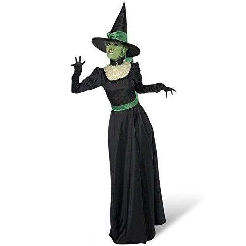 Böse Hexe Kostüm Damen - M (Frau Kostüm Hexe)