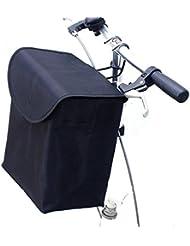Cesta de la cesta plegable de la bicicleta cesta portable para las mujeres y los hombres