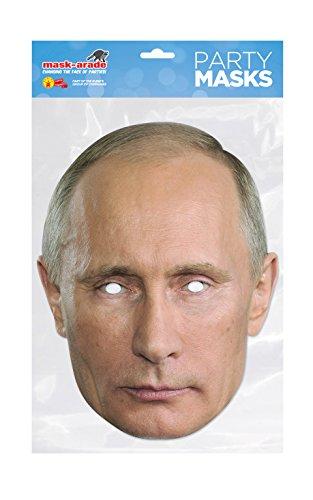 mir Putin Freundschafts Masken Pack mit einer Donald Trump Maske und einer Vladimir Putin Maske ()