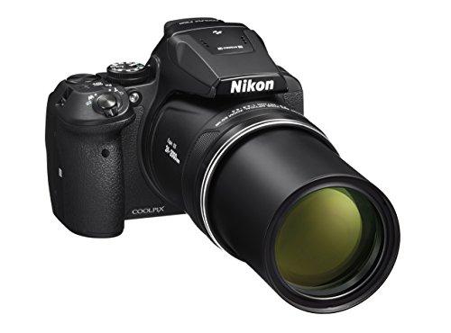 Nikon coolpix p900 fotocamera digitale compatta, sensore cmos 16 megapixel, zoom 83x, vr, lcd 3
