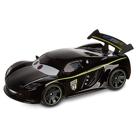 Disney Pixar Cars Exclusive 1:48 Die Cast Car Lewis Hamilton (Disneystore exclusive) (Cars 2 Disney Diecast)