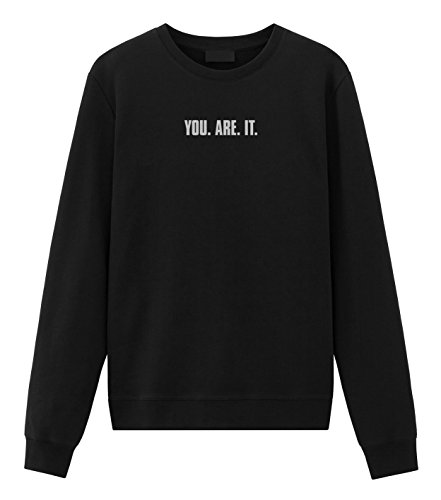 Negan You Are It Embroidered Sweatshirt Black Large