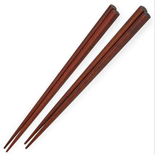 Ecloud-Shop-Authentic-chinois-naturelles-bambou-Baguettes-Un-cadeau-Pair-Sets-Poids-Light-Brown