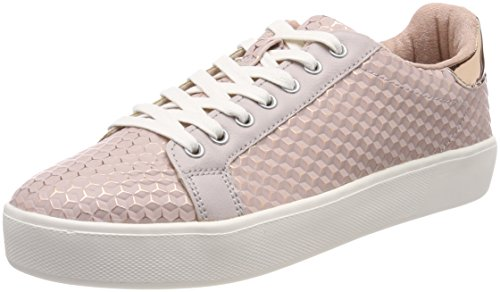 Tamaris Damen 23724 Low-Top Sneakers, Pink (Rose Structure), 39 EU