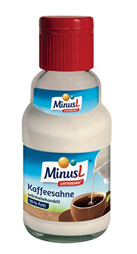 Minus L - Kaffeesahne '10% Fett Laktosefrei' - 161 ML