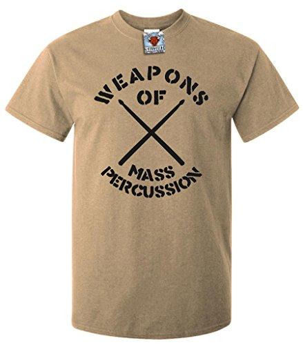 bullshirts-mens-weapons-of-mass-percussion-t-shirt-xxl-khaki