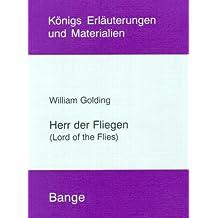 William Golding 'Herr der Fliegen' (Livre en allemand)