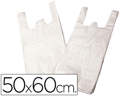 Liderpapel 15Y50 - Bolsa Camiseta 50X60Cm Paquete 200U