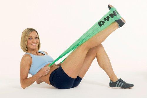dyna-band–Elastikband, Unisex – Erwachsene, grün (Erwachsene Rugby Unisex)