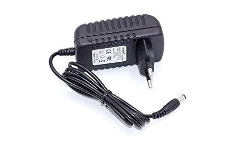 vhbw 220V Netzteil Ladegerät Ladekabel 24W (12V/2A) für AVM Fritz!Box 2030, 2031, 2070, 2170, 3020, 3030, 3050, 3070, 3130, 3131,