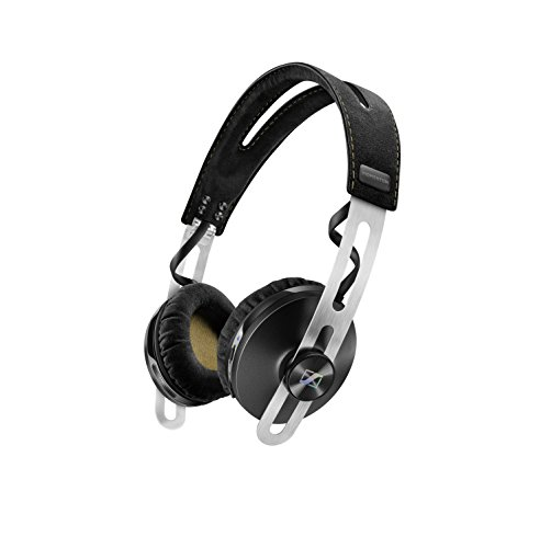 Sennheiser Momentum 2.0 ON-EAR Wireless - Auriculares de diadema cerrados inalámbricos (BT APTX / NFC, cancelación de ruido), color negro