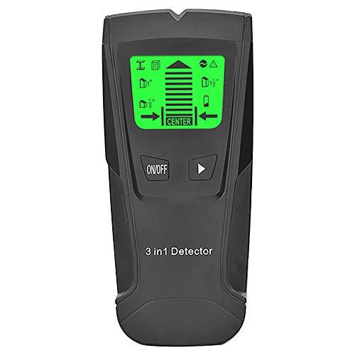 3 en 1 Detector de Metales Encontrar Metal Espárragos de Madera Ac Voltaje Cable en Vivo Detectar Escáner...