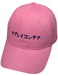 Unisex Baseball Cap,Sannysis Stickerei Brief Cotton Snapback Hip Hop Hüte