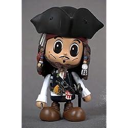 Figura Cosbaby Piratas Del Caribe Jack Casual 8 Cms