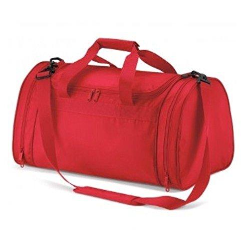 Quadra Sport-reisetasche - Leuchtend Rot, One Size Leuchtend Rot