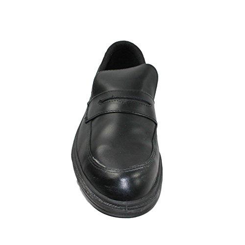 TuF s2 chaussures de travail chaussures chaussures berufsschuhe businessschuhe imperfections plat noir Noir - Noir