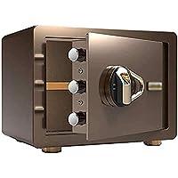 ZQY Segura De La Huella Digital De La Huella Digital del Armario Oculto Antirrobo Completamente De Acero del Hogar Mini Cash Box De Pared Segura (Color : A)