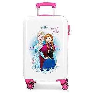 Disney 4721461 Maleta de cabina rígida Frozen Dream of Magic, 55 cm, Multicolor