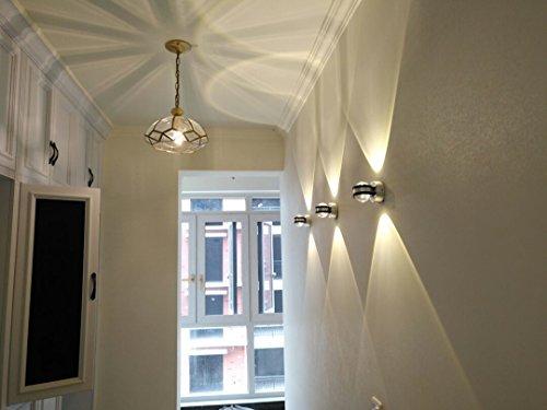 Coocnh 6w led applique da parete corridoio lampada design moderno