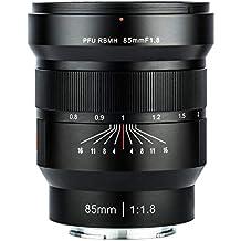 Viltrox PFU Rbmh 85 mm F1.8 Monture E Full Frame Mise au Point Manuelle Objectif pour Sony E Mont A9, A7R3, A7R2, A7M3, A7M2, A7S2, A6500,A6300, A6000, A5000