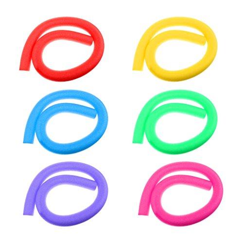 Sharplace 6 PCS di Tagliatella della Piscina Tubi Noodle da Piscina Inflatable Noodle Formazione Nuoto