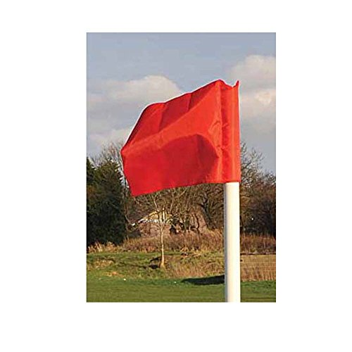 Precision Pro Fußball Ecke Flagge rot rot Einheitsgröße
