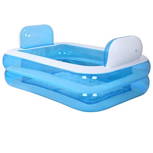 Praktische tragbare Kind Erwachsene aufblasbare Badewanne Sauna Die Faltbare Badewanne QLM-aufblasbare Badewanne und aufblasbares Tauchbad (Erwachsene Sauna Anzug)