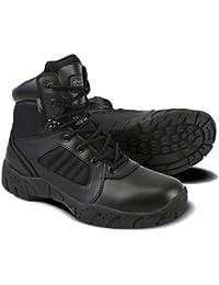 Kombat UK - 6 inch botas tácticas, unisex, negro, 41