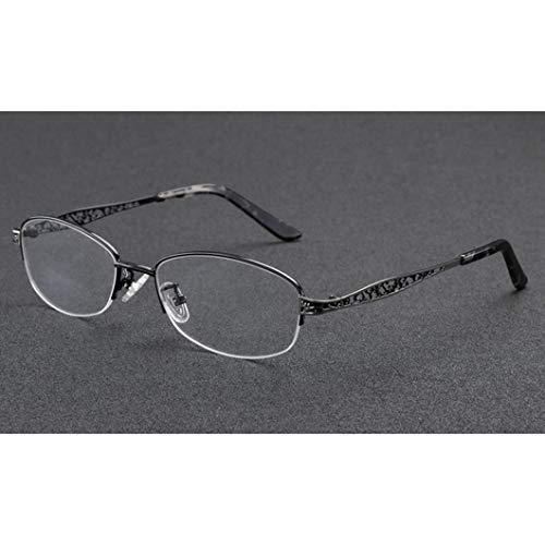 Progressive Multifokus Lesebrille,photochrome Lesebrillen Sehhilfe,UV Schutz Strahlenschutz Multiple Focus Eyewear,Unisex Brille Inklusive Sonnenleser