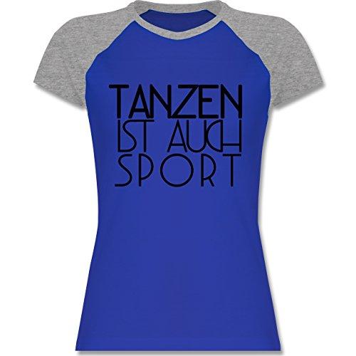 Shirtracer Statement Shirts - Tanzen ist Auch Sport - Zweifarbiges  Baseballshirt/Raglan T-Shirt