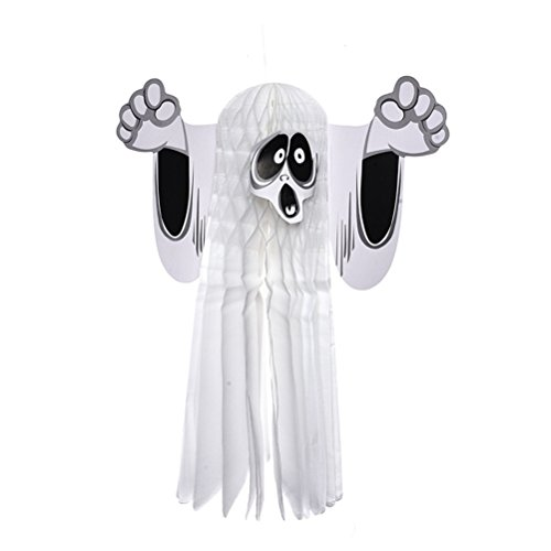 NUOBESTY Halloween Ghost hängende Dekoration Ornament Haunted House Dekoration Größe S