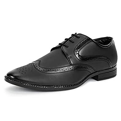BUWCH Formal Blk Shoe for Men-6k