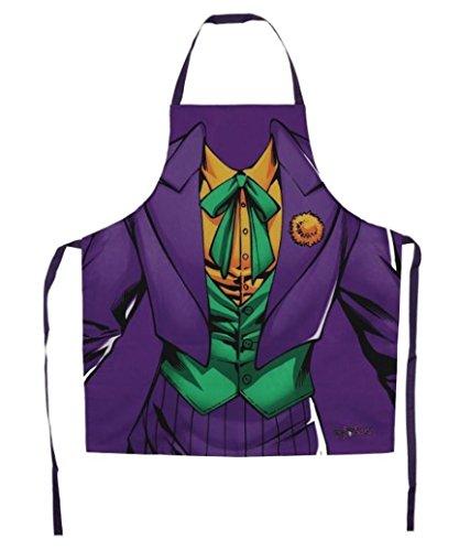 Batman Offizielles DC Comics Originals 'Joker Kostüm' Neuheit Kochen Schürze. (Offizielle Batman Kostüm)