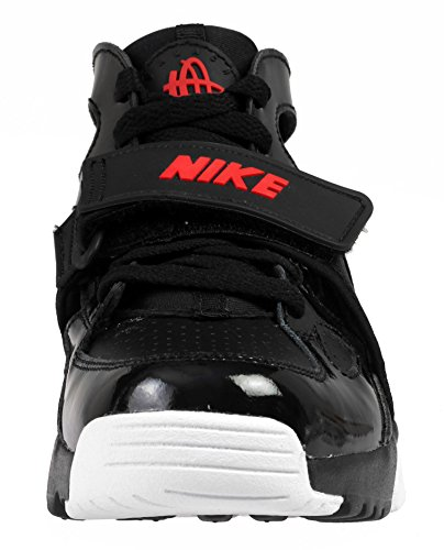 Nike Trainer Huarache (Gs), Chaussures de Randonnée Garçon Noir (Noir / Défi Rouge-Blanc)