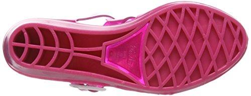 Juju Shoes Tinkerbelle, Sandales Compensées femme Rose - Pink (Party Pink Sparkles/Party Pink)