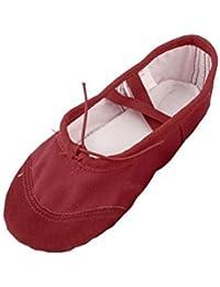 Vitiello Dance Shoes Allenamento Donna Nera, Chaussons de danse pour femme - noir - noir, 37 EU EU