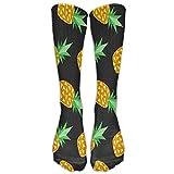 ruishandianqi Sweet Pineapple Unisex Cute Pattern Crew Socks Compression-Socks for Boys and Girls