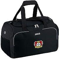 Jako Fußball Bayer 04 Leverkusen Herren Sporttasche Classico mit Nassfach schwarz Größe 3 Senior