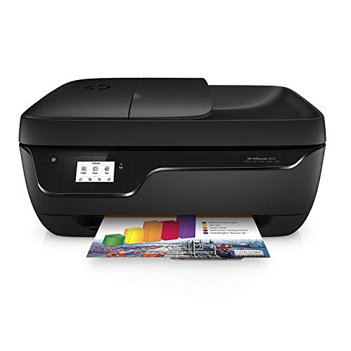 HP OfficeJet 3833 - Impresora Multifunción de Tinta (Wi-Fi, Incluido 2 Meses de HP Instant Ink, ADF, USB 2.0) Color Negro