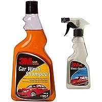 3M Car Shampoo (500ml) & 3M Glass Cleaner (250ml) Combo Pack