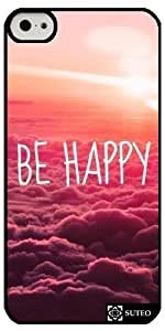 Coque Iphone 5c – Be Happy - ref 722