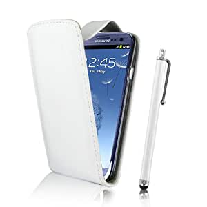 Kolay Flip Case for Smartphone (with Screen Protector and Stylus