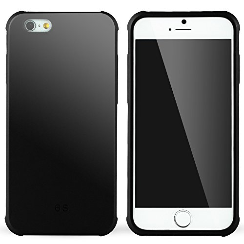 iPhone 6 hülle,iPhone 6s hülle,Lizimandu Case Für apple iphone 6/6s aus TPU Silikon - Handy Schutzhülle Cover(Drachen Schwarz/Dragon Black) Schwarz/Black