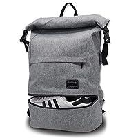 ITSHINY Sporttas voor mannen en vrouwen, schoudertas voor de sportschool, reis-rugzak, gym bag 3-in-1 ontwerp met schoenenvak, waterdicht en licht