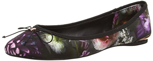 Ted Baker - Imme, Ballerina da donna, multicolore (shadow floral print), 39