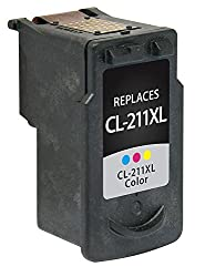 V7 V72975B001 CL-211M XL Ink for Canon Printers (Replaces Canon 2975B001, Yield up to 349 Pages)